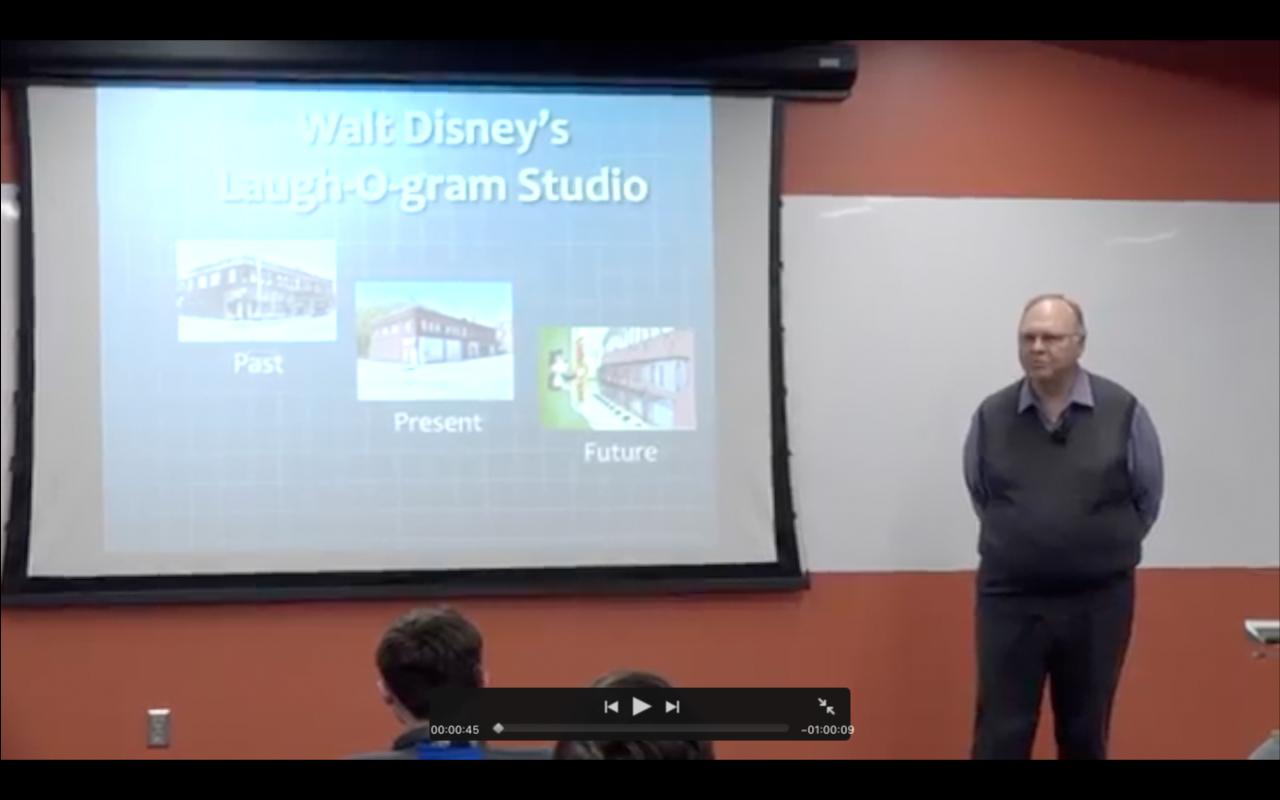 Walt Disney's Laugh-O-gram Studio: Past, Present & Future